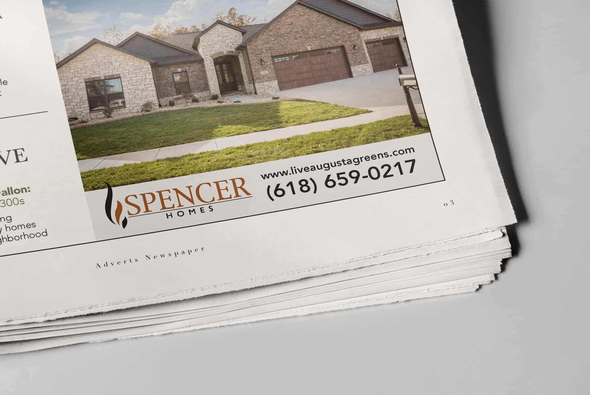 Spencer Newspaper mockup