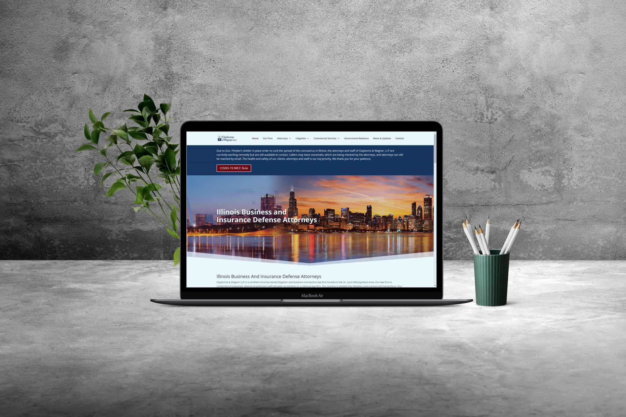 clayborne website laptop