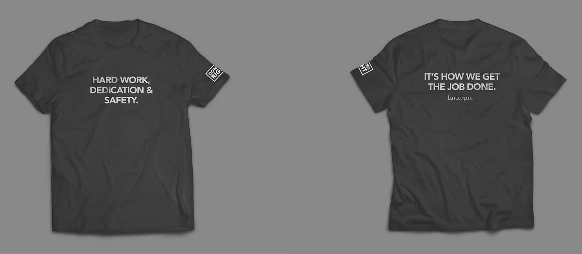 navy shirt mockup
