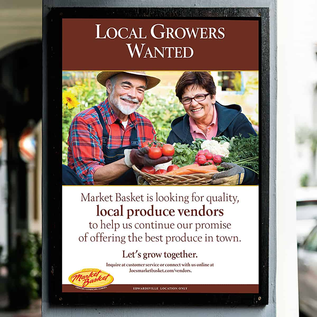 local growers wanted poster