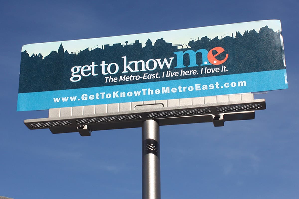 Get to Know the Metro East billboard