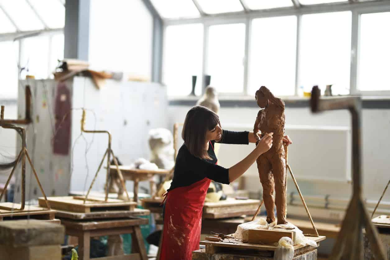 Edwardsville Arts Center sculptor