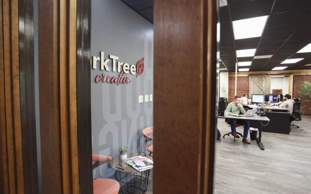 marketing office entryway