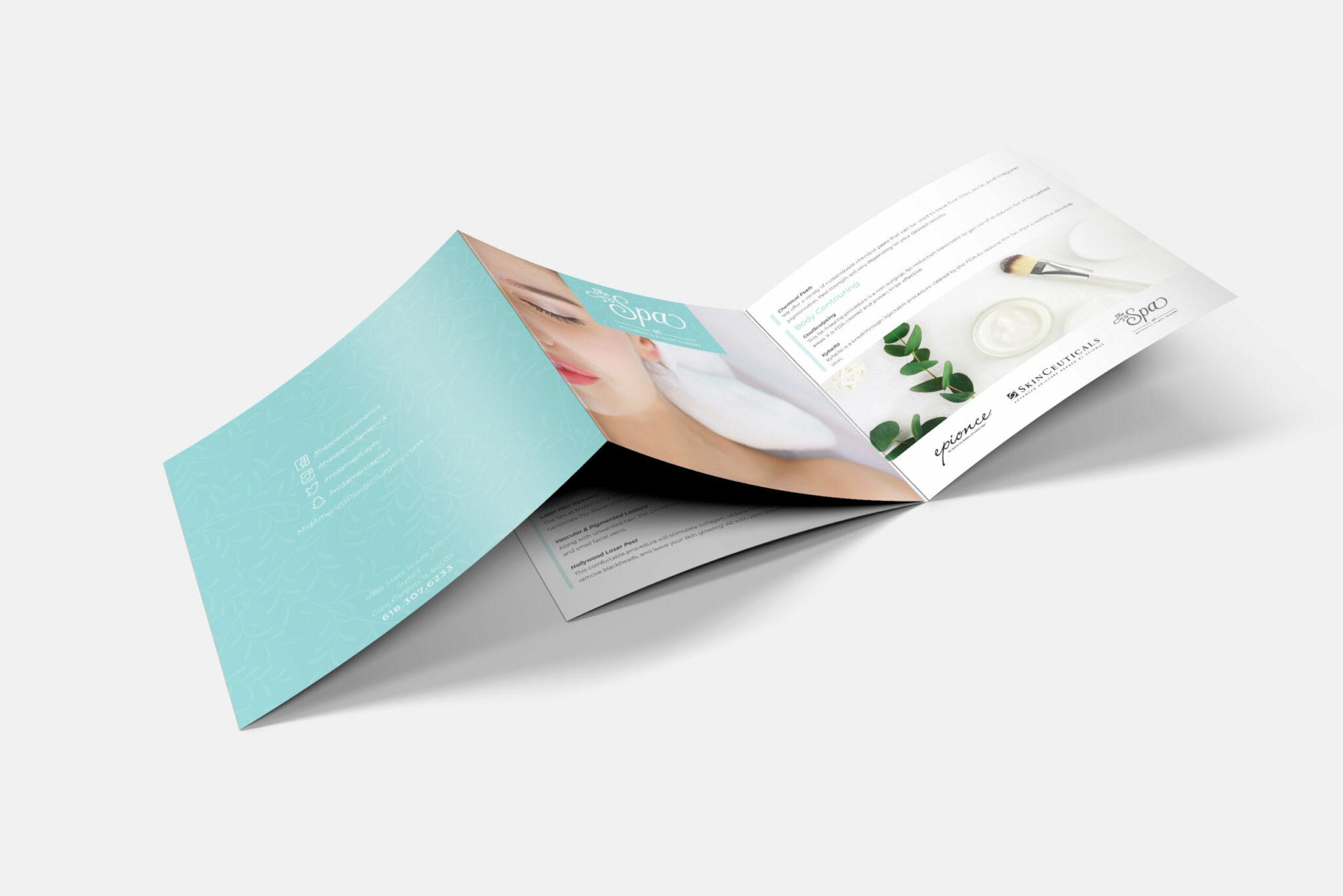 MidAmerica Spa brochure of services